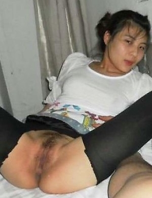 Compilation of two steamy hot amateur Asian bitches